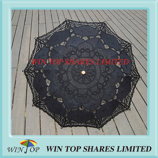 Chinese fashionable black art umbrella