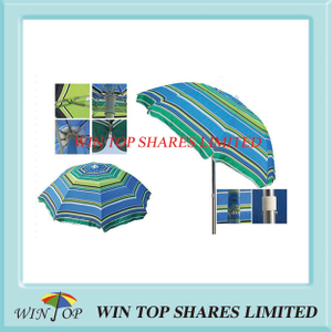 Fashion and Strong Beach Umbrella with Tilt (WT7057)