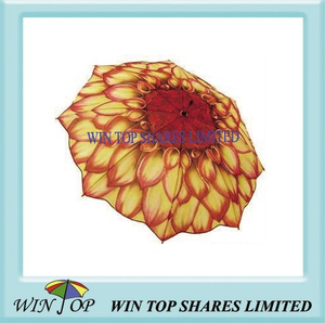 "23"" Auto Stick Sunflower Umbrella (WT1063)"