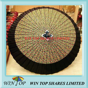 Japanese design printed paper art parasol