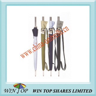 "23"" Auto Stick Aluminum Shoulder Umbrella"