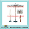 Arc 2.7m Crank System Wooden Deluxe Umbrella