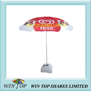 "40"" Advertising Frigo Wall's Beach Umbrella"
