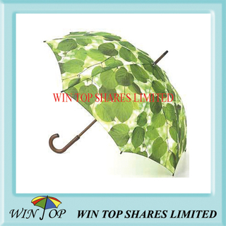 "23"" Auto Advertising Wooden Handle Umbrella"