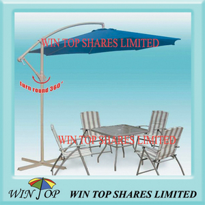 Steel Cantilever Patio Leisure Garden Umbrella (WTS1012)