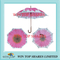 Auto Stick pink sun flower Umbrella for event and promotion