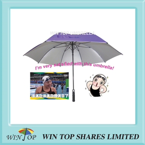 Web celebrity and cewebrity favorite auto purple Golf Umbrella