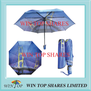 Golden Gate Bridge heat transfer printing umbrella