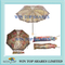 UV Proof and Water Proof Satin Embroidery Ladies Umbrella