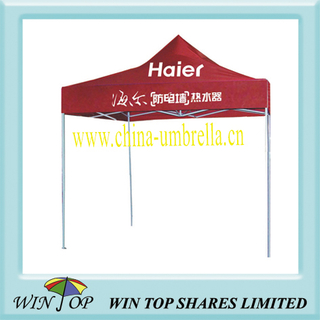 3*3M Promotion steel outdoor tent with logo printing