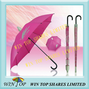Auto Straight Drip Cover/Water Cover Umbrella