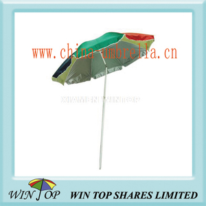 "40"" Anti UV Beach Sun Umbrella"