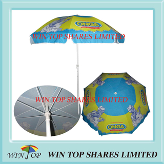 "40"" Fashion Advertising Beach Umbrella"