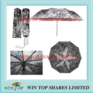 10 Ribs Auto Image Printing Fashion Umbrella