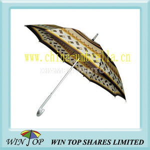 "23"" Auto Straight Printed Ladies Umbrella"