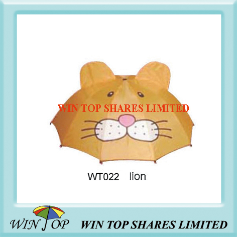 Animal King Lion Model Umbrella (WT022)