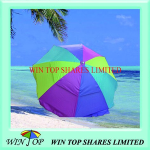 "40"" Windproof Outdoor Sun Umbrella"