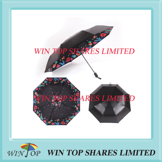 Hot sell UV resistant black adhesive umbrella wholesaler