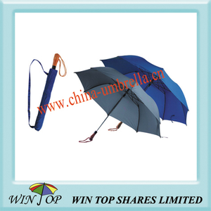 "23"" Auto 2 Fold Solid Color Umbrella"