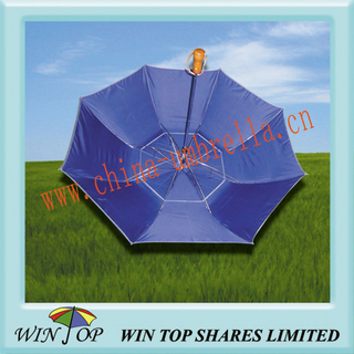 "23"" 2 Fold Windproof and Gustbuster Umbrella"