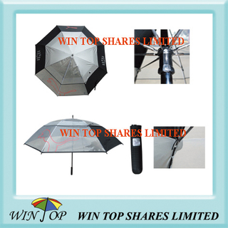 PVC and Pongee Golf Umbrella (WT6096)