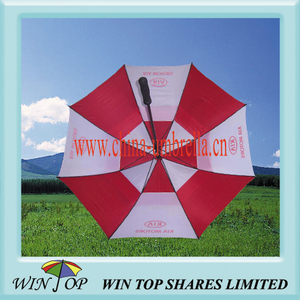 "30"" Anti Wind and Storm Proof Promotion Golf Umbrella (WT6050)"